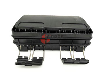 IP65 Aerial Mount Optical Fiber Splice Enclosure for PLC splitter, 16 fibras Caja de terminales