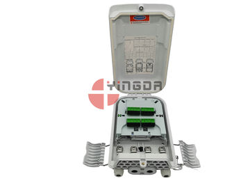 ISO FTTH Nap Splitter Fiber Optic Distribution Box 16 Cores Outdoor SC Connectorized